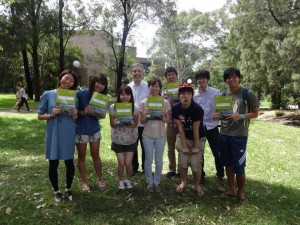 University of Wollongong College (Australia)での短期(春期)語学留学にて