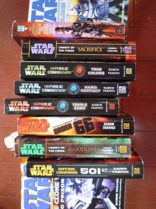 Assorted Star Wars Novels