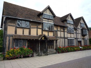 Shakespeare's House. Stratford-upon-Avon